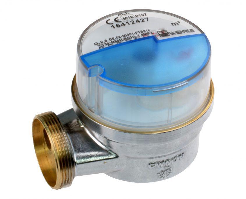 Ventilzähler-Messkopf Allmess Modularis Kaltwasser Q3 2,5